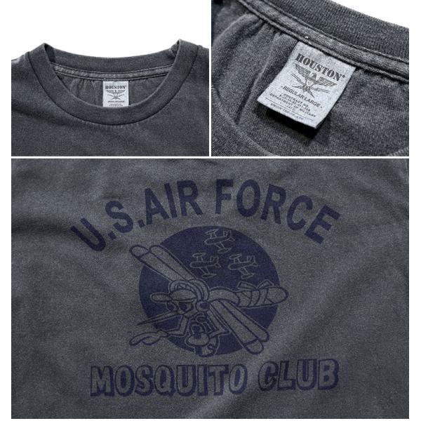 HOUSTON / ヒューストン 21814 PIGMENT TEE (MOSQUITO)/ ピグメント半袖Tシャツ(モスキート) -全5色- houston-1972 10