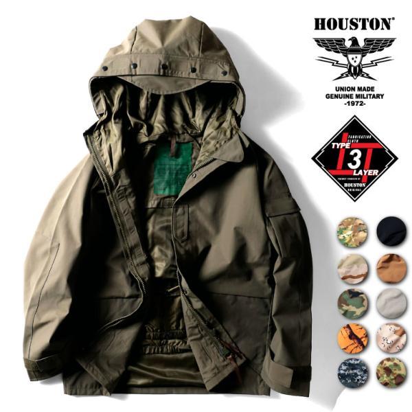 HOUSTON ECWCS PARKA /ヒューストン 50311 ECWCS パーカー -全8色-|houston-1972
