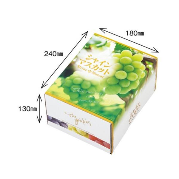 農園名等必要 オリカ ぶどう箱 OS シャインマスカット 1.5kg 260×200×135mm 1ケース50セット入り