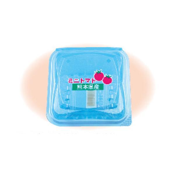 信和 ミニトマト用パック ミニパック FX-200 熊本県産 4H 嵌合 110×110×64mm 1ケース1200枚入り
