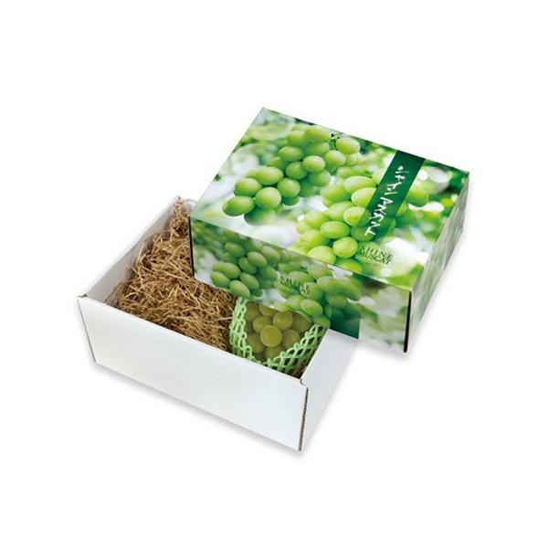 屋号必須 ヤマニパッケージ ぶどう箱 L-2418 シャインマスカット 大  300×230×135mm 1ケース30枚入り