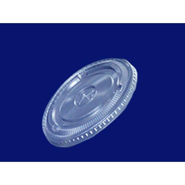 店舗名等必要 フジナップ プラスチック容器 フジプラカップ 平蓋穴付9オンス用 φ82×10mm DF-78 1ケース2000個入り