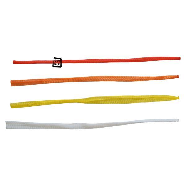 信和 棒ネット Sタイプ 折巾24cm 長さ30cm 赤/黄/オレンジ/白 にんにく・すだち用 1ケース8000本入