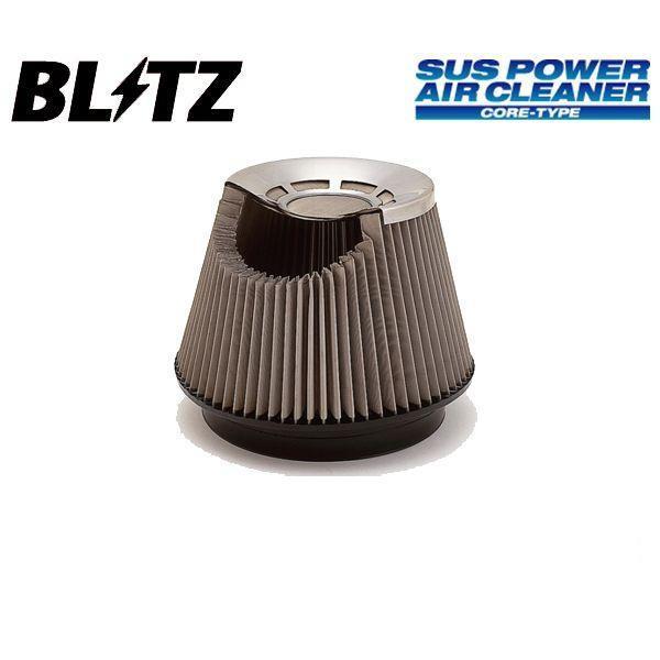 ブリッツ BLITZ サスパワー SUSパワー エアクリーナー コアタイプ フォレスター SF5 97/02-98/09 EJ20G/EJ205