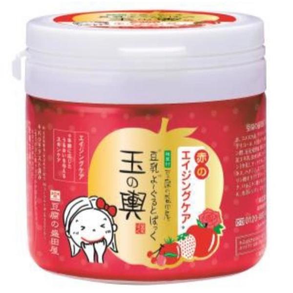 豆乳よーるとぱっく 玉の輿赤のエイジングケア 150g