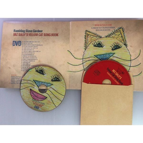 スティーヴ・ガードナー Steve Gardner / ミズ・サリーズ・イエロー・キャッツ|hoyhoy-records|03