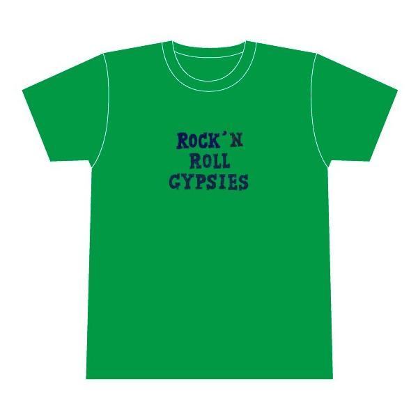 Rock'n Roll Gypsies  金森幸介x森英二郎  Tシャツ |hoyhoy-records
