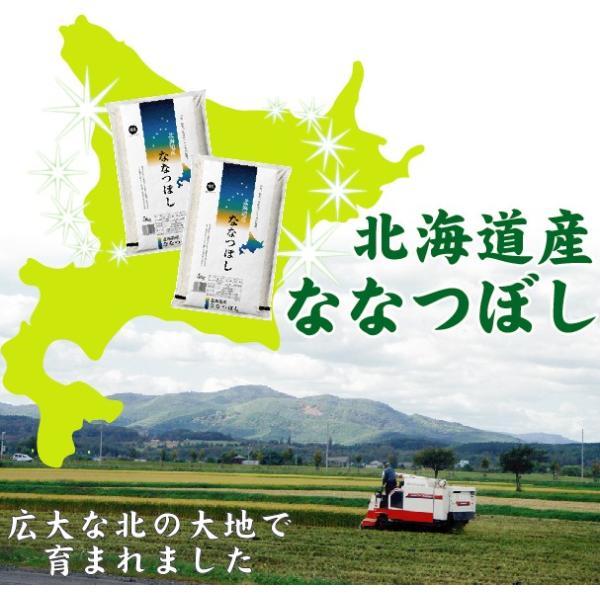 新米 5kg ななつぼし 北海道産 精白米 白米 30年産 送料無料|hseason|02