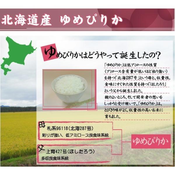 5kg×2袋 北海道産 ゆめぴりか 10kg 精白米 白米 29年産 送料無料|hseason|05