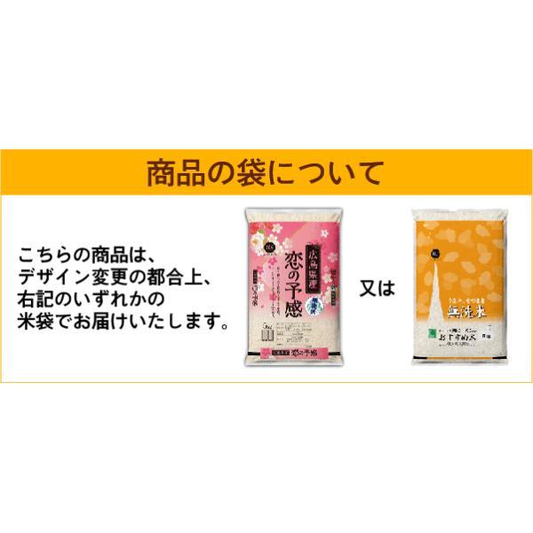 無洗米 5kg×2 恋の予感 広島県産 10kg バレンタイン ミニチョコおまけ付き 30年産 送料無料|hseason|07