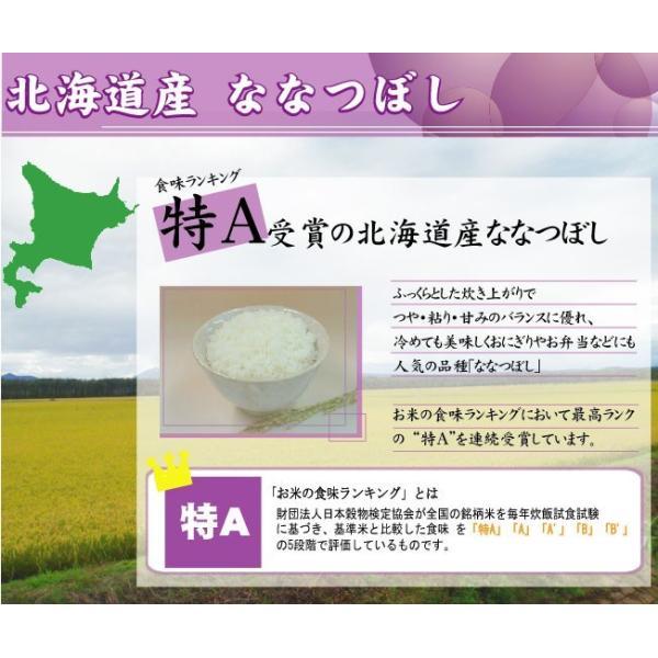 無洗米 5kg×2 ななつぼし 北海道産 10kg 30年産 送料無料  特A hseason 04