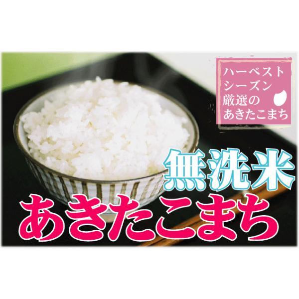 新米 10kg 5kg×2袋 無洗米 お米 あきたこまち 30年産  滋賀県産 送料無料|hseason|02