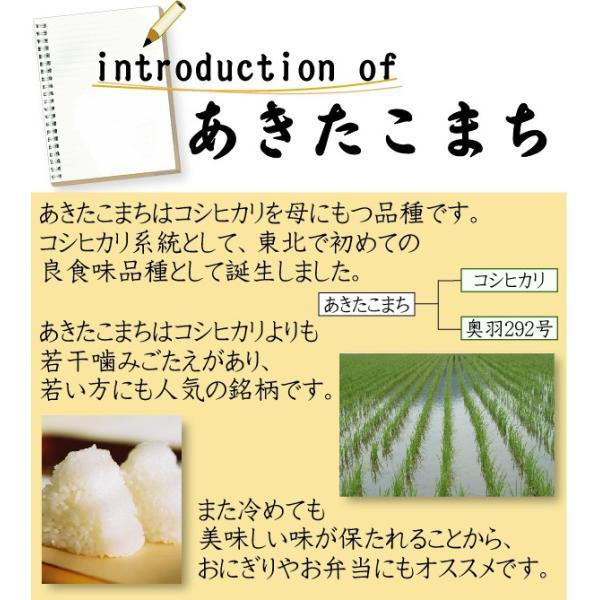 新米 10kg 5kg×2袋 無洗米 お米 あきたこまち 30年産  滋賀県産 送料無料|hseason|04