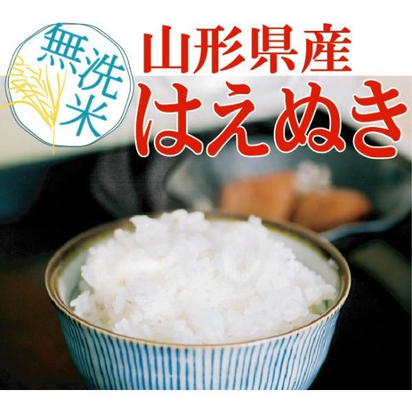 無洗米 5kg 山形県産 はえぬき 29年産 送料無料|hseason|02