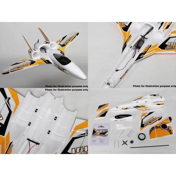 Hobbyking Radjet Ultra Pusher/EDF Airplane 790mm (ARF
