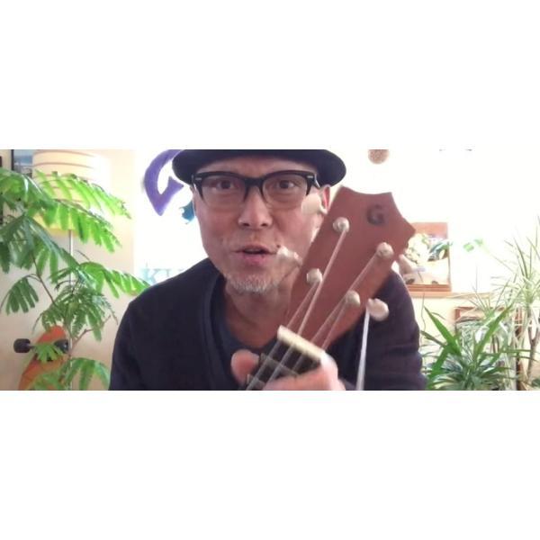 初心者向け ガズの弾きやすいウクレレ (ソフトケース、ガズレレ歌本Vol1 & チューナー付き)|hsk|11