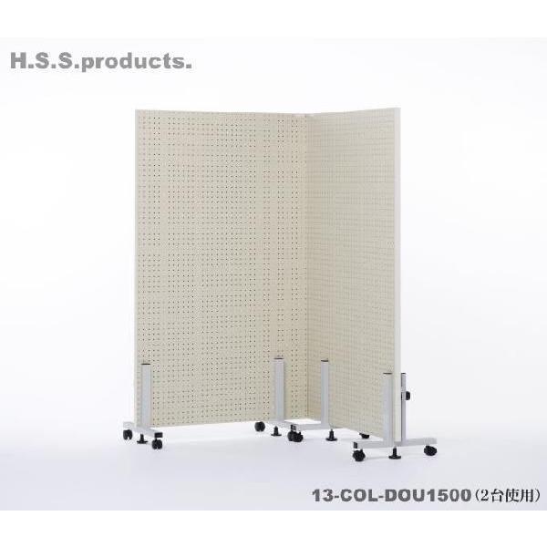 道具整理有孔ボード (道具用有孔ツールハンガー)900×1500 キャスタータイプ 有孔用フック20本付属。(平野システム作業台)『予約』|hss-products|04