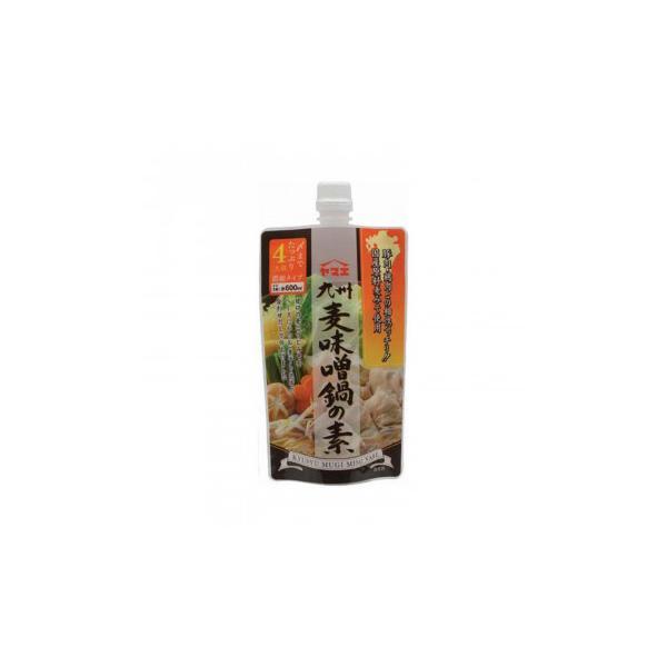 (送料無料・代引&同梱不可)ヤマエ 九州麦味噌鍋の素 300g×12個