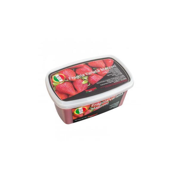 (送料無料・代引&同梱不可)マッツォーニ 冷凍ピューレ ストロベリー 1000g 6個セット 9408