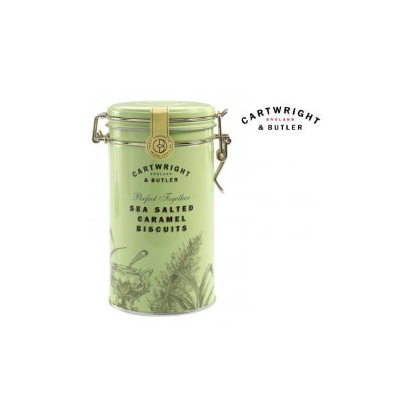 (送料無料・代引&同梱不可)Cartwright&Butler カートライト&バトラー 塩キャラメルビスケット 6缶 10041054