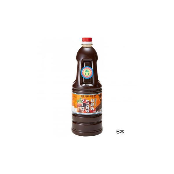 (送料無料)和泉食品 タカワお好みたこ焼きソース(濃厚) 辛口 1.8L(6本)