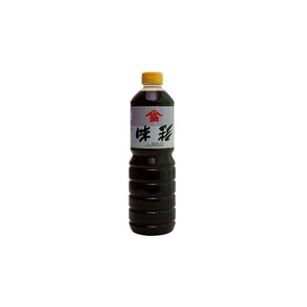 (送料無料・代引&同梱不可)橋本醤油ハシモト 高級だし入り醤油 味彩(あじさい)1000ml×20本