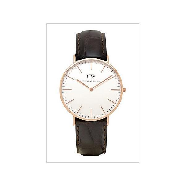 ダニエル ウェリントン 腕時計 Daniel Wellington クラシック ヨーク ローズ 0510DW メンズ レディース ユニセックス セール