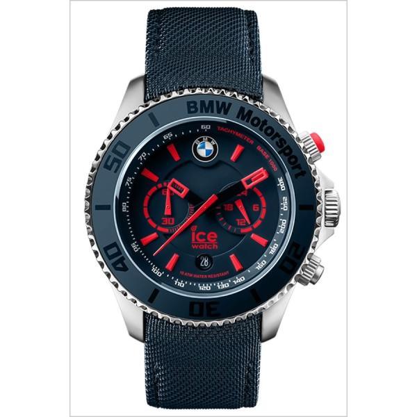 アイス ウォッチ 腕時計 ICE WATCH 時計 ビーエムダブリュー モータースポーツ スチール ブルー&レッド ビッグビッグ BMCHBRDBBL メンズ