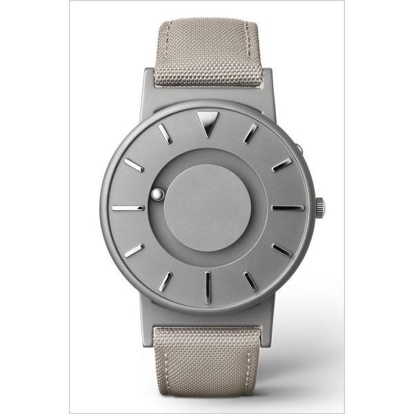 イーワン 腕時計 EONE 時計 ブラッドリー キャンバス グレー EONE-BR-C-BEIGE メンズ レディース ユニセックス