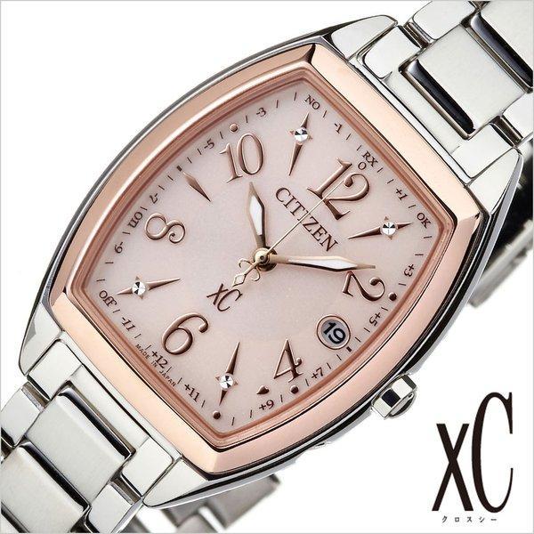 シチズン 腕時計 CITIZEN 時計 クロスシー ステンレススチールライン ハッピーフライト ES9390-57W レディース