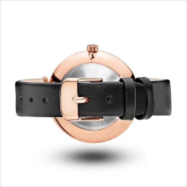 モックバーグ 腕時計ベルト MOCKBERG 時計バンド ベルト ブラック 13mm MO131 レディース
