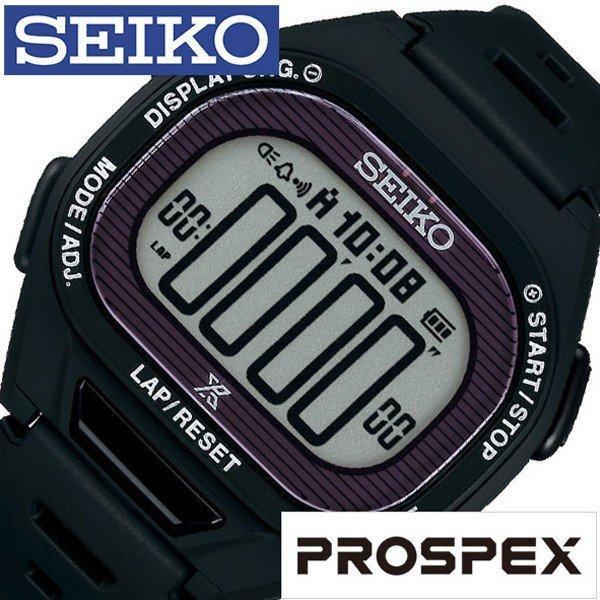 4e9621b2ef SEIKO 腕時計 セイコー 時計 プロスペックス スーパーランナーズ PROSPEX SUPERRUNNERS メンズ ブラック SBEF055の画像