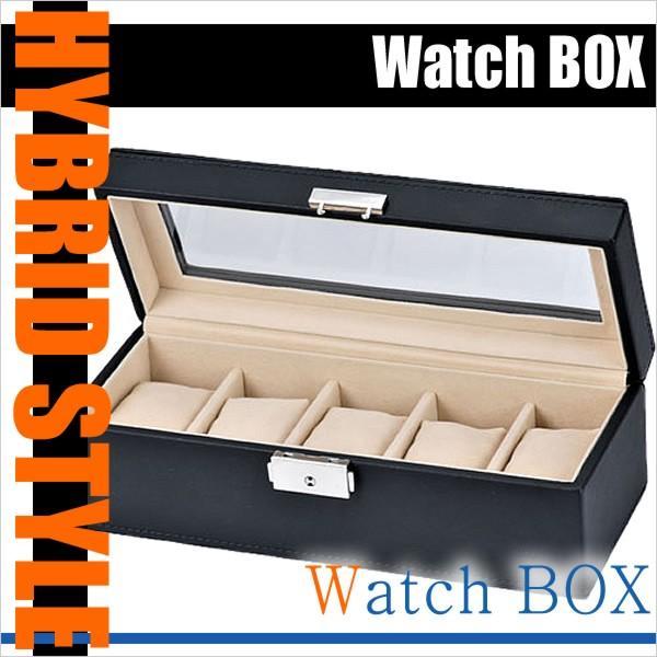 エスプリマ 腕時計ケース Esprima ケース コレクション ボックス SE-63520BK メンズ レディース ユニセックス 男女兼用