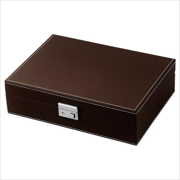 エスプリマ コレクション ボックス 腕時計ケース Esprima Collection Box ケース SP-80049LBR メンズ レディース ユニセックス 男女兼用