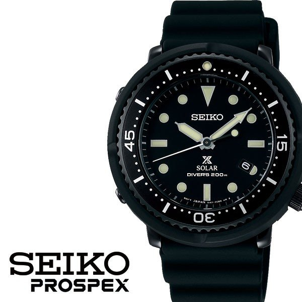 1acc4e67d0 SEIKO 腕時計 セイコー 時計 プロスペックス PROSPEX ユニセックス ブラック STBR025の画像