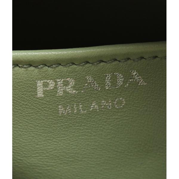 美品 プラダ 2WAY レザーハンドバッグ 1BB011 PRADA レディース