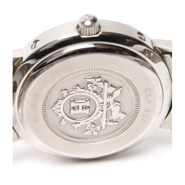 エルメス 腕時計(クリッパー) クリッパー CL4.220 クォーツ HERMES レディース  中古