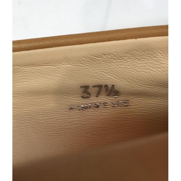 トッズ SIZE 37 1/2 (M) レザー ローファー TOD'S レディース  中古