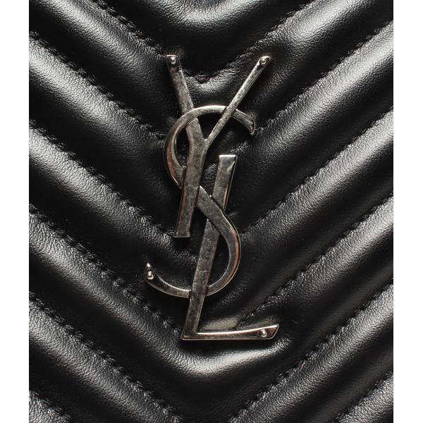 美品 イヴサンローラン レザーショルダーバッグ 520534 Yves saint Laurent レディース  中古