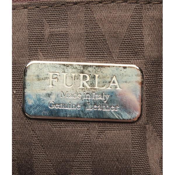 フルラ スエードレザーハンドバッグ レディース FURLA
