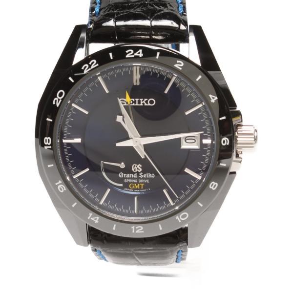 グランドセイコー 腕時計 スプリングドライブGMT 自動巻き 9R16-0AB0 メンズ Grand Seiko 中古
