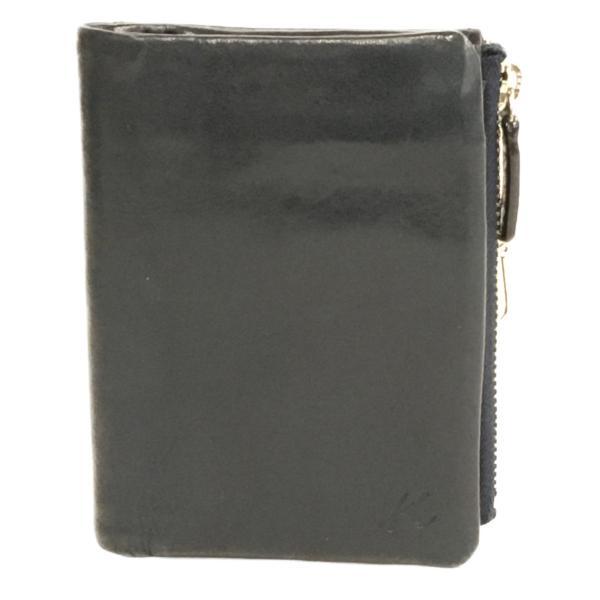 キタムラ二つ折り財布メンズKITAMURA中古