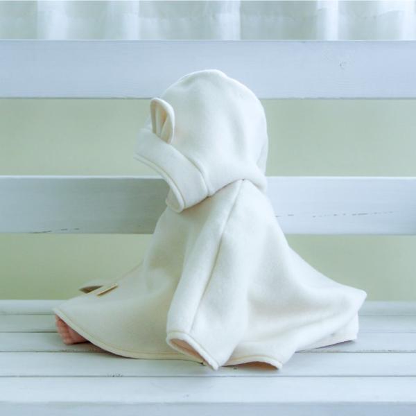 はぐまむ 綿毛布 ポンチョ マント ベビー 無添加 日本製 着る毛布 赤ちゃん 子供|hugmamu2|12