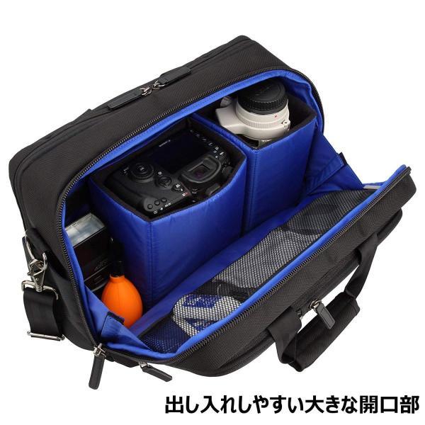 HAKUBA カメラバッグ ルフトデザイン アーバン02 ショルダーバッグ L 15.8L ビジネスタイプ SLD-UB02SBL|huratto|02