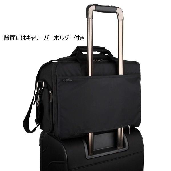 HAKUBA カメラバッグ ルフトデザイン アーバン02 ショルダーバッグ L 15.8L ビジネスタイプ SLD-UB02SBL|huratto|07