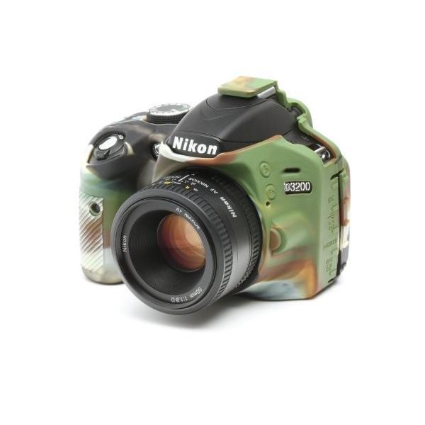 DISCOVERED イージーカバー Nikon D3200 用 液晶保護フィルム &スクリーンプロテクター付 カモフラージュ D3200-