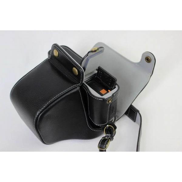 Fujifilm X-Pro2 X-Pro 2 X Pro2 ケース 本革カメラーケース、Koowl手作り表面牛革カメラケース、富士 X-P|huratto|03