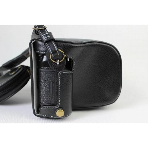 Fujifilm X-Pro2 X-Pro 2 X Pro2 ケース 本革カメラーケース、Koowl手作り表面牛革カメラケース、富士 X-P|huratto|04
