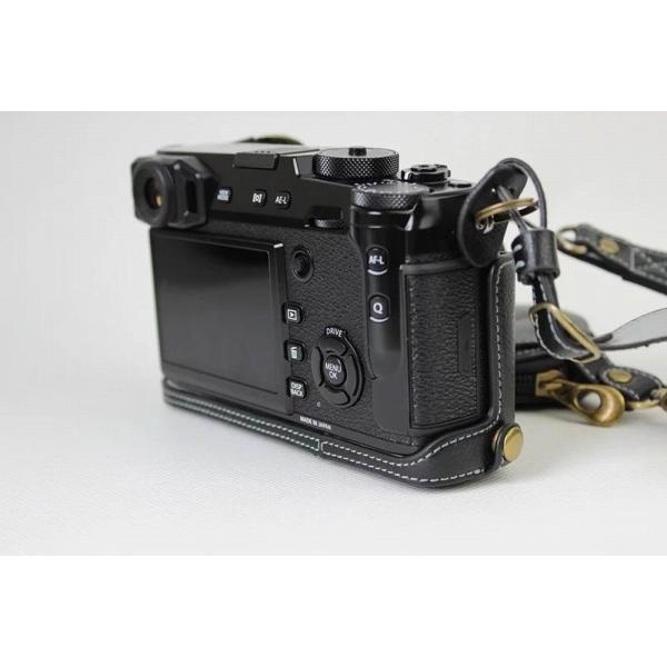 Fujifilm X-Pro2 X-Pro 2 X Pro2 ケース 本革カメラーケース、Koowl手作り表面牛革カメラケース、富士 X-P|huratto|06