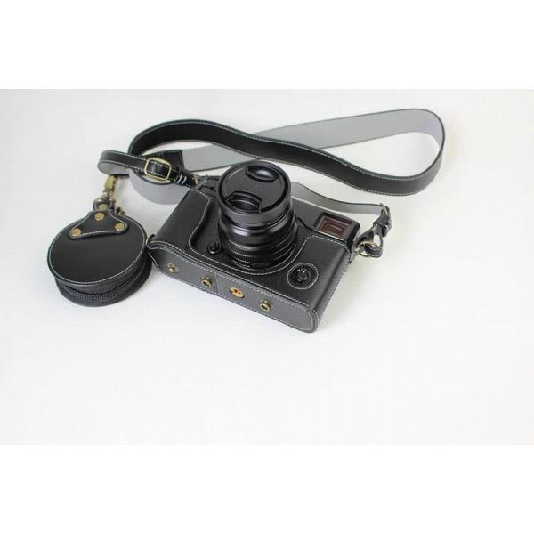 Fujifilm X-Pro2 X-Pro 2 X Pro2 ケース 本革カメラーケース、Koowl手作り表面牛革カメラケース、富士 X-P|huratto|07